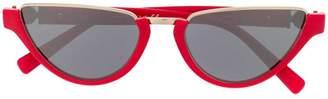 Versace Eyewear narrow cat eye sunglasses
