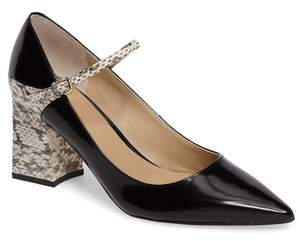 Marc Fisher Zullys Snake Embossed Mary Jane Pump