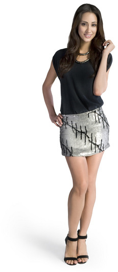 Gryphon Sequin Standout Skirt