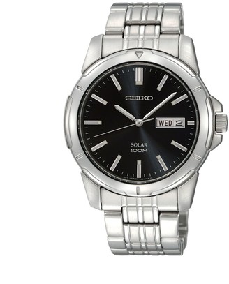 Seiko Men's Stainless Steel Solar Watch - SNE093