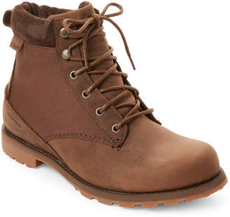 Columbia Cordovan & Oxford Tan Marquam Nylon Boots