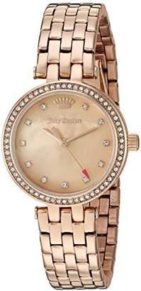 Juicy Couture Women's 'Cali' Quartz Gold Quartz Watch(Model: 1901469) $225 thestylecure.com