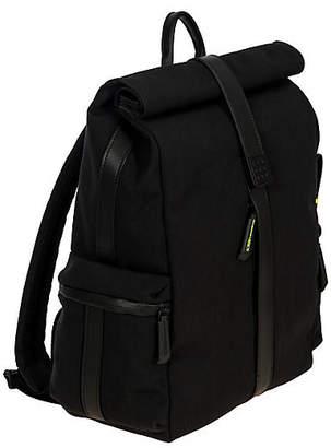 Bric's Moleskine Roll-Top Backpack - Black - Brics