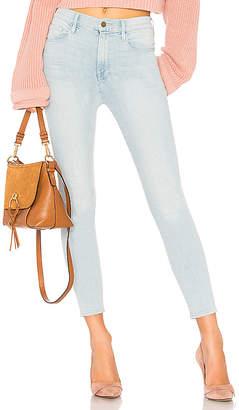 Frame All High Rise Skinny Cigarette Jean