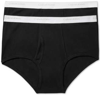 Calvin Klein Men's Big and Tall Classic 2-Pack Briefs NB1102