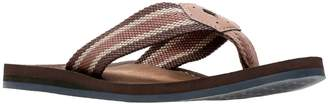 Clarks Collection By Lacono Sun Flip Flops