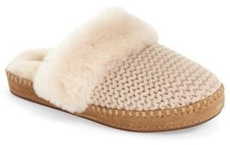 Women's Ugg Aira Knit Scuff Slipper $109.95 thestylecure.com