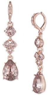 Givenchy Swarovski Crystal Medium Drop Earrings