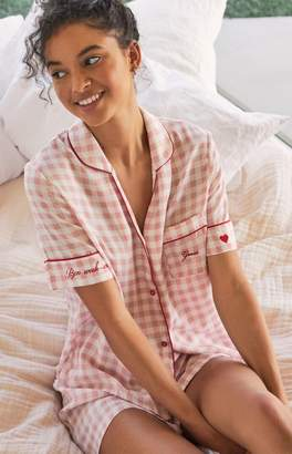 Guess Pink Pajama Set