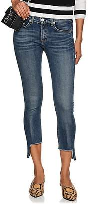 Rag & Bone Women's Hampton Mid-Rise Ankle Skinny Jeans - Blue