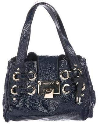 Jimmy Choo Embossed Patent Leather Ramona Bag