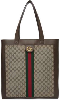 Gucci Beige GG Supreme Tote