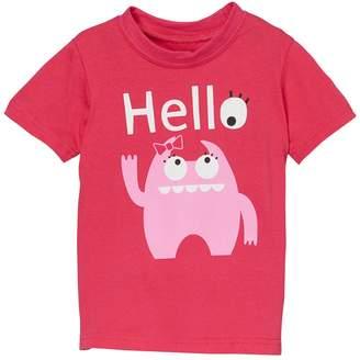 Doodle Pants Pink Monster Shirt (Toddler Girls)
