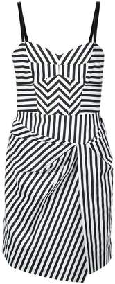 Milly short striped dress