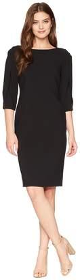 Tahari ASL Slit Sleeve Sheath Dress Women's Dress