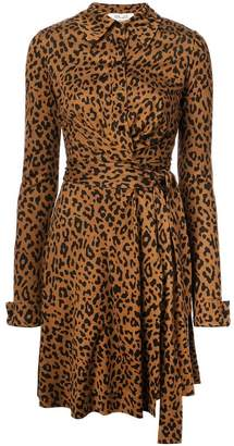 Diane von Furstenberg animal print dress
