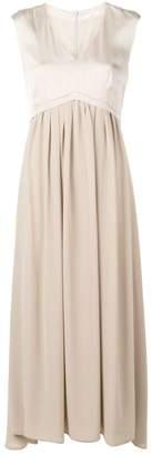Peserico flared evening dress