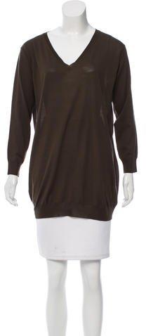 pradaPrada Wool V-Neck Sweater