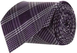 Tom Ford Check Silk Tie