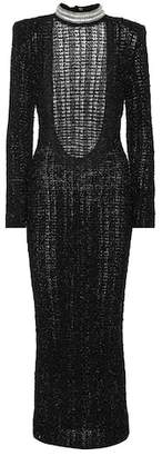 Balmain Crystal-embellished dress