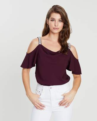 7bae846e35006b Red Cold Shoulder Tops For Women - ShopStyle Australia