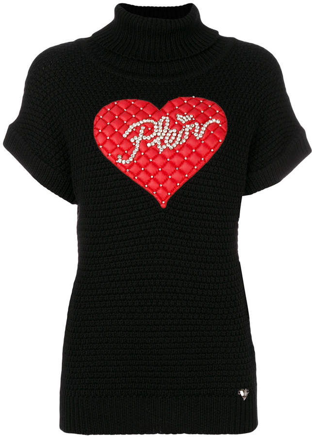 Philipp Plein Win knitted top