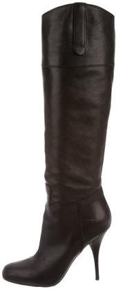 Miu Miu Miu Miu Leather Knee-High Boots