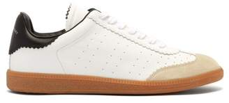 Isabel Marant Brycy Low Top Leather Trainers - Mens - White Multi
