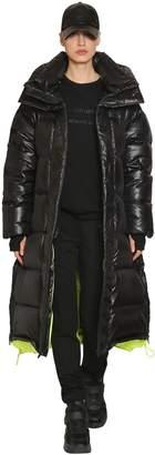 Juun.J Adjustable Length Nylon Down Coat
