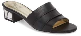 Adrianna Papell Tiana Block Heel Slide Sandal