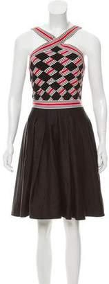 Diane von Furstenberg Tenna Halter Dress