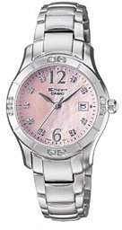 Casio Women's SHN4019DP-4A Sheen MOP Watch