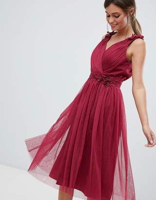 Little Mistress V neck prom dress