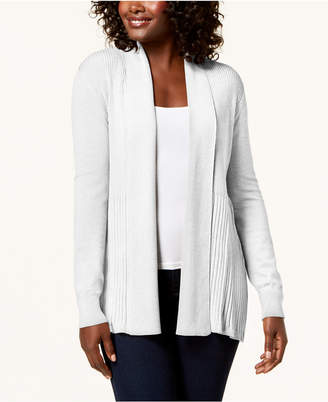 Karen Scott Shawl-Collar Cardigan