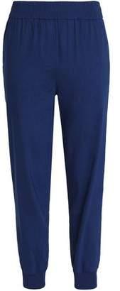 DKNY Linen-Blend Track Pants