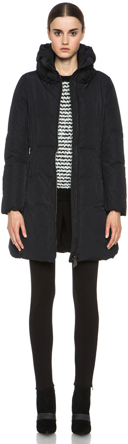 Moncler Renne Coat in Black
