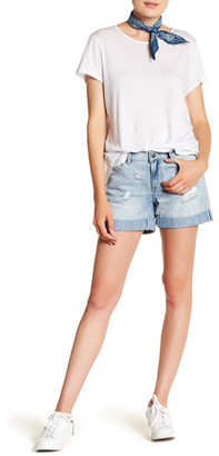 SUSINA Distressed Boyfriend Short $34.97 thestylecure.com