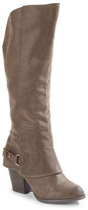 Fergalicious Tall Stacked Heel Boots