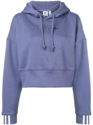 adidas Coeeze cropped hoodie