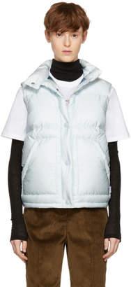 Prada Blue Down Puffer Vest