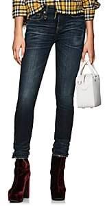 R 13 Women's Alison High-Rise Skinny Jeans - Blue