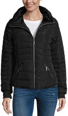 YMI Jeanswear Midweight Puffer Jacket-Juniors
