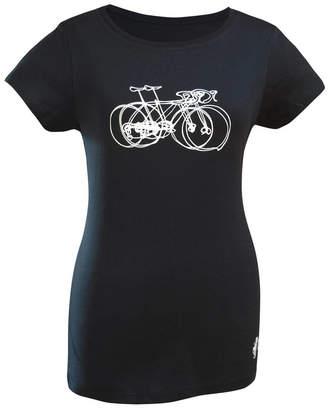 dead Good dog On Tour Ladies Fit T Shirt