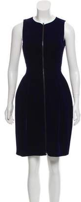 Alaia Fit & Flare Velvet Dress w/ Tags