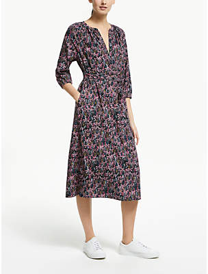 Dahlia Collection WEEKEND by John Lewis Floral Smock Dress, Multi