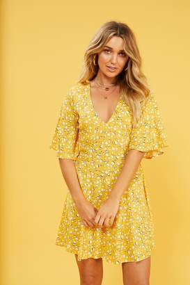 MinkPink Mink Pink Summer Daisy Tea-Dress