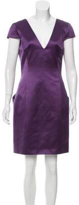 Alexander McQueen Silk Sheath Dress w/ Tags