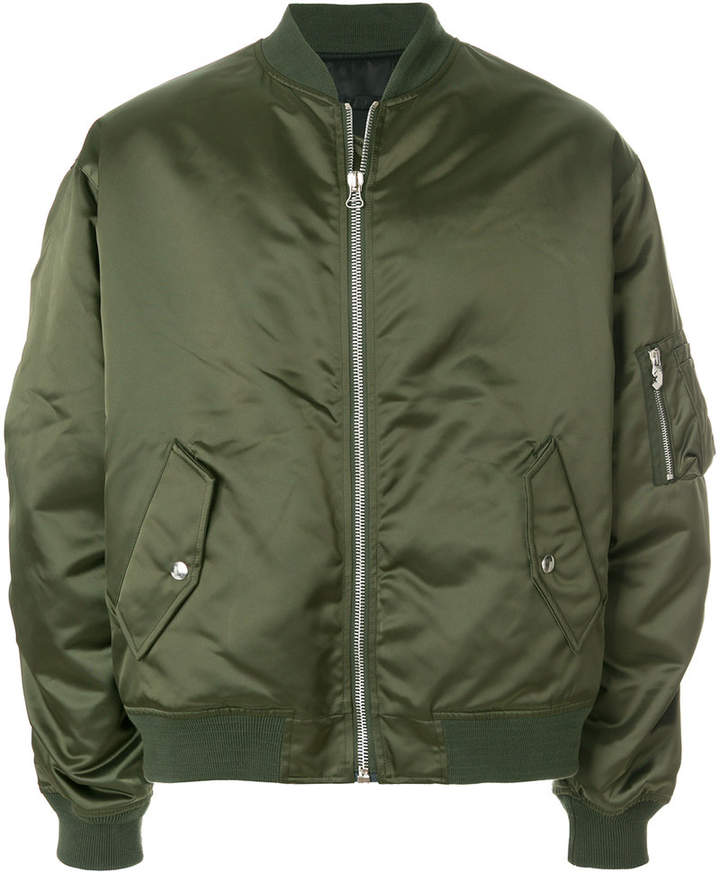 Golden Goose Deluxe Brand gathered sleeve bomber jacket