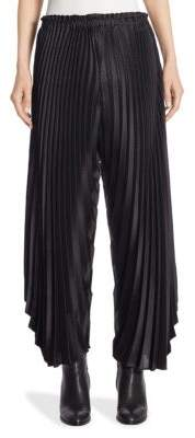 Issey Miyake Draped Asymetric Radial Pleats Pants