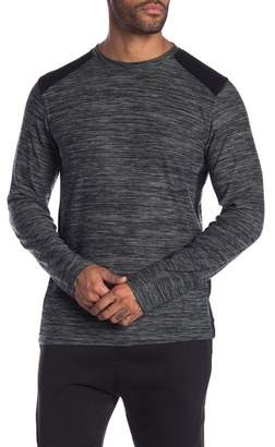 Burnside Contrast Panel Crew Neck Tee